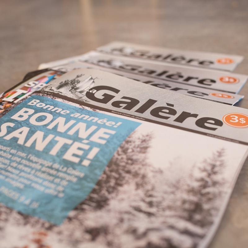 Abonnement Journal de rue La Galère